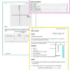 OCR Gateway GCSE Physics required practical student workbook. Just print and handout to your students. They will have a complete record of each required practical method, along with their results, analysis and teacher feedback.