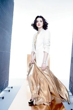 Khatia Buniatishvili magazine photo   December 2012