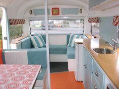vintage caravan interiors - Google Search