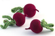 1 Stk häkeln Rüben häkeln Gemüse Beißring Zähne von MiniMoms