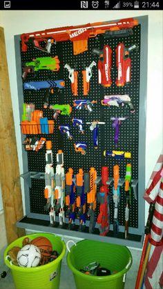 Nerf Gun Rack