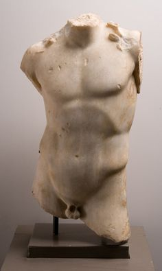 Torso of a Young Man Unknown, Roman Roman Sculpture