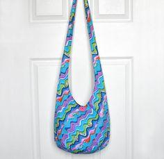 Hobo Bag Cross Body Bag Sling Bag Hippie Purse Hobo by 2LeftHandz
