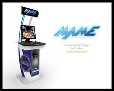 Mame Arcade Cabinet