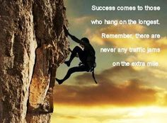 The Extra Mile... Do you have it in you?