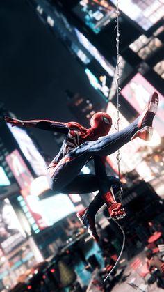 Spiderman Poster, Spiderman Art, Amazing Spiderman, Fullhd Wallpapers, Spiderman Pictures, Black Spiderman, Marvel Memes, Marvel Comics, Ms Marvel