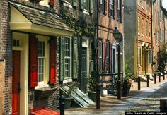 7 Places in America History Nerds Need to See: #1, Elfreth's Alley, Philadelphia (Photo by John Greim via Getty Images)