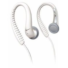 Music Headphones - Pin it :-) Follow us, CLICK IMAGE TWICE for Pricing and Info . SEE A LARGER SELECTION of music headphones at http://azgiftideas.com/product-category/music-headphones/  - gift ideas -   Nike Sport Flow Ear Hook Headphones White by Phillips