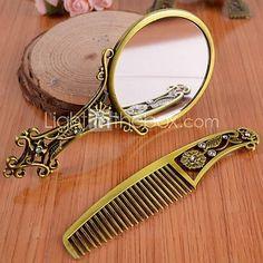 Espejo motivo de abanico de bronce vendido espejos - Paneras leroy merlin ...