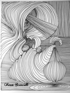 Curvas - canetas hidrográficas