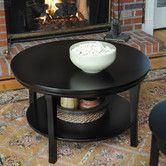 Found it at Wayfair - Bay Shore Coffee Table with Shelf [I love finding things on Wayfair!]