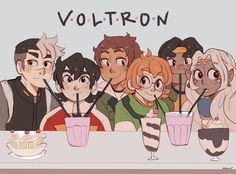 Voltron/FRIENDS