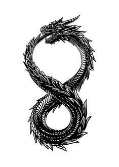 Quetzalcoatl Tattoo, Fenrir Tattoo, Ouroboros Tattoo, Simbols Tattoo, Body Art Tattoos, Hand Tattoos, Sleeve Tattoos, Viking Tattoos For Men, Dragon Tattoos For Men