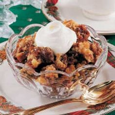 Date Pudding - this pudding has been our family's favorite dessert for Thanksgiving and Christmas for 65 years...and it's still on the menu.