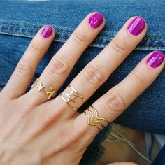 """375 Likes, 16 Comments - Chato Accessories-Online Store (@chatoaccessories) on Instagram: """"Rings full of stars Happy Labor day Loves✨ #chatoaccessories #rings #goldplated #fashion #laborday"""""""