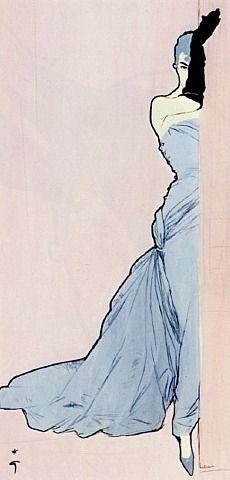 "Robe ""René Gruau"" for FLAIR by René Gruau from Galerie Bartsch & Chariau GmbH"
