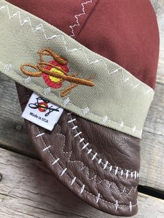 Southern Colorado embroidered Welding cap with a Leather Bill! Welded Metal Projects, Welding Projects, Shielded Metal Arc Welding, Metal Welding, Diy Welding, Custom Welding Caps, Welding Hats, Welding Helmet, Welding Certification