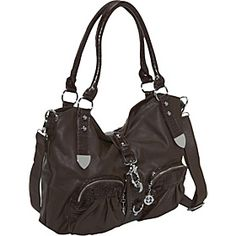 Might be the perfect purse - outside pockets, handle and shoulder strap