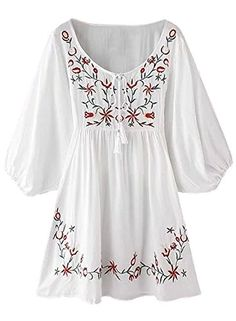 Futurino Women's Bohemian Embroidery Floral White Tassel ... https://www.amazon.com/dp/B01ID7JUAM/ref=cm_sw_r_pi_dp_YQyJxbD8DT626