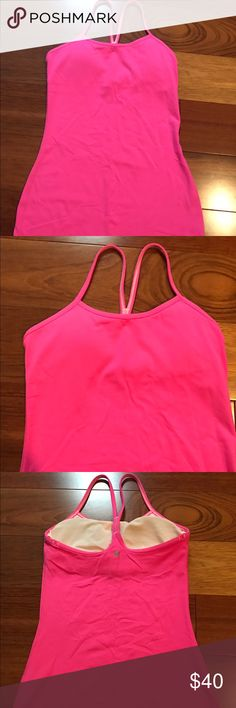 Lululemon Tank Top size 4 Worn only once. Size 4. No stains. Tight fitting. Medium support. lululemon athletica Tops Tank Tops