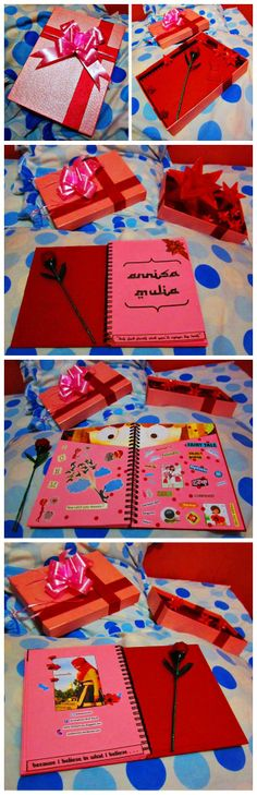 DIY : box, scrapbook by Fely Komul