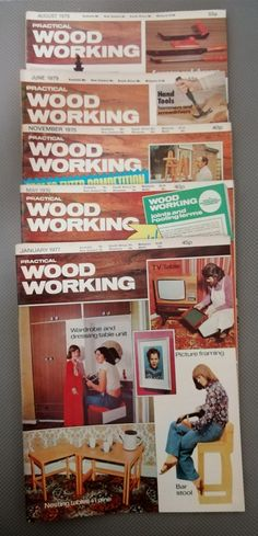 5 Randomly Selected, Vintage Practical Wood Working Magazine's in the Magazines category was listed for on 20 Feb at by TomHarvey in Vereeniging