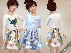 Sims 4 CC's - The Best: Clothing for Kids & female Sims by Fritzie.Lein