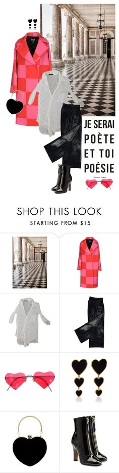 """Squares"" by tasteofbliss ❤ liked on Polyvore featuring Trianon, MSGM, Brandy Melville, Lindberg, Edie Parker and Valentino"