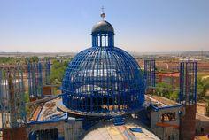 Catedral de Justo Gallego en Construccion, fotos de la obra del Evangelio Viviente
