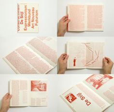 Three shades of red Riso printed book by Brooklyn based Everything Type Company, loads of really solid publishing work.