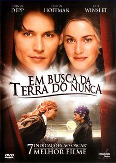 Um filme de Marc Forster com Johnny Depp, Kate Winslet : J.M. Barrie (Johnny…