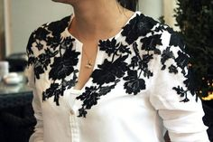 DIY Clothes Refashion: My Style ;DIY blouse #diy #clothes #refashion
