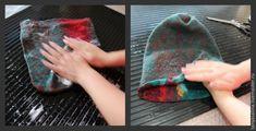 "Валяем шапку ""Коралловый риф"" - Ярмарка Мастеров - ручная работа, handmade"