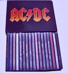 A 17 albums CD BOX OF AC/DC