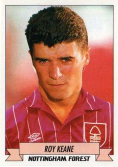 Roy Keane NOTTINGHAM FOREST 1990-93