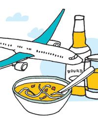 My favorite places to eat in 12 airports across the country.