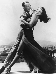 Rita Hayworth & Fred Astaire in You'll Never Get Rich in 1941