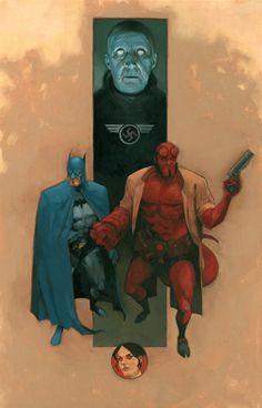Hellboy & Batman