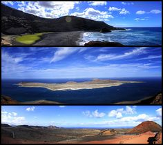 Panoramas of Lanzarote, Canary Islands