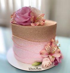 Beautiful Birthday Cakes, Happy Birthday Cakes, Beautiful Cakes, Amazing Cakes, Cake Decorating Techniques, Drip Cakes, Buttercream Cake, Fancy Cakes, Pretty Cakes