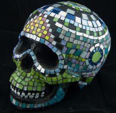 Painted Human Skulls | item details reviews 8 shipping policies