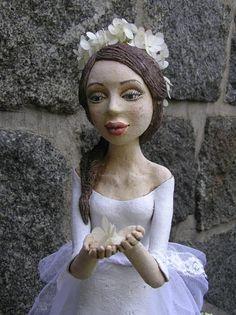 Kočida | Fler.cz Paper Clay Art, Air Dry Clay, Pottery, Sculpture, Ceramics, Statue, Dolls, Porcelain Ceramics, Ceramica