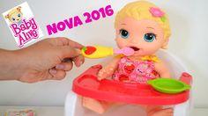 Baby Alive 2016 Lancamento Minha Nova Boneca Lily!!! Em Portugues Tototo...