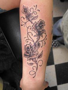 Black Ink Tattoos for Women | zebraprint tattoo flash art chicano alphabet lil wayne new tattoo 2011 ...