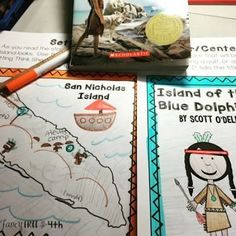 These Island of the Blue Dolphins book activities are perfect for your classroom. Evaluate story elements such as setting,character traits, problem/solution while you read this novel.  These will look like works of art hung on a bulletin board!