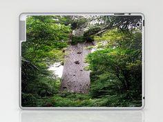 The World's Oldest Wood, Ancient Kauri Laptop & iPad Skin by David Hernández-Palmar - $25.00