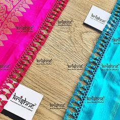 Saree Kuchu New Designs, Saree Tassels Designs, Pattu Saree Blouse Designs, Blouse Neck Designs, Embroidery Scarf, Baby Love Quotes, Kurta Neck Design, Kids Frocks Design, Saree Look