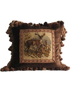 stag pillow from gorsuch