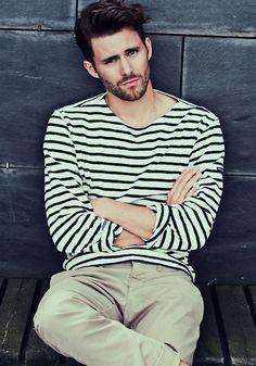 25 Stylish Hot Guys In Stripes -- Beard and Khakis -- Mens Style -- Via The Berry photo 25-Stylish-Hot-Guys-In-Stripes-Beard-Khakis-Mens-Style-Via-The-Berry.jpg