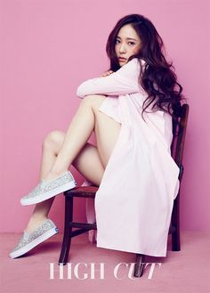 f(x) Krystal - High Cut Magazine Vol.172